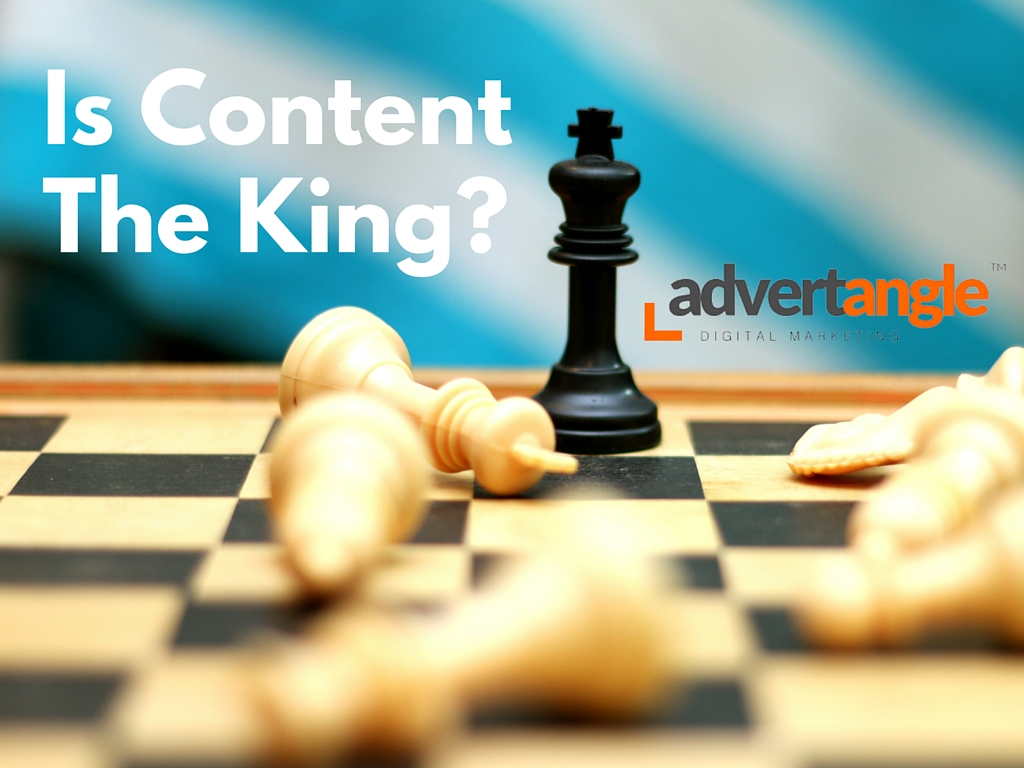 Is Content The King?
