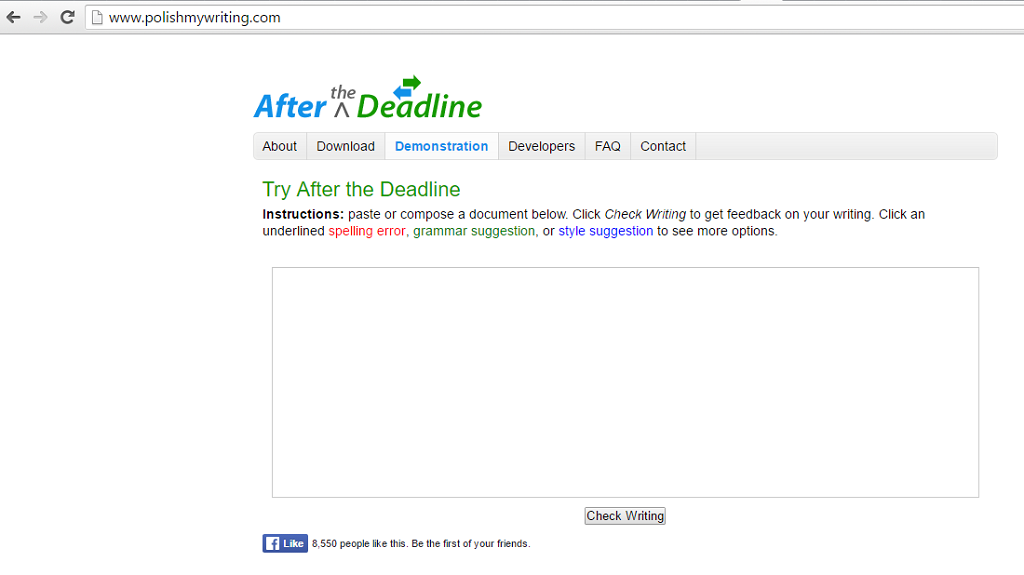 5 Free Writing Tools - After the Deadline