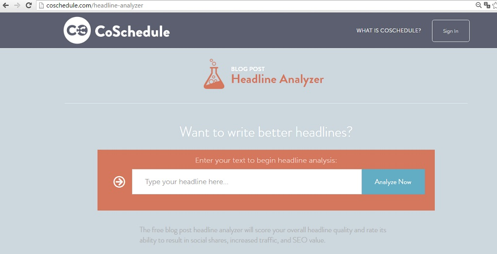 Amazingly useful tools to create-catchy headlines - CoSchedule